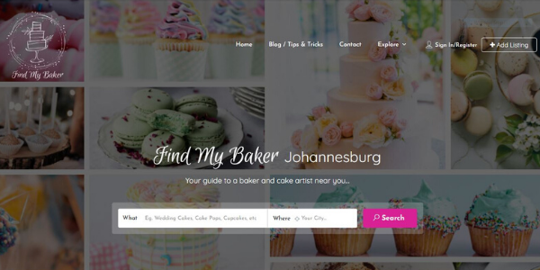 Find My Baker - Directory Service